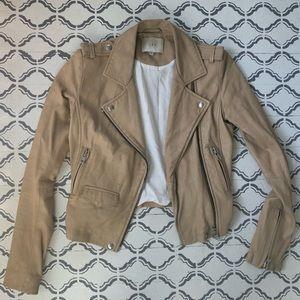 IRO Ashville lambskin Leather Jacket 34